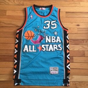 MITCHELL & NESS SWINGMAN BASKETBALL JERSEY